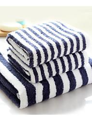 Bath Towel Set,Stripe High Quality 100% Cotton Towel