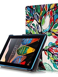 cheap -Print Cover Case for Lenovo TAB3 Tab 3 7 Essential 710 710F TB3-710F  7.0 inch with Screen Protector