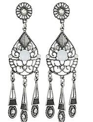 Dame Dråbeøreringe Vintage minimalistisk stil Overdimensionerede kostume smykker Legering Geometrisk form Dråbe Smykker Til Anden Stadie