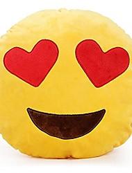 cheap -Round Practical Joke Gadget Stuffed Animal Plush Toy Pillow Eco-friendly Material Cotton PP N/A Teen Gift
