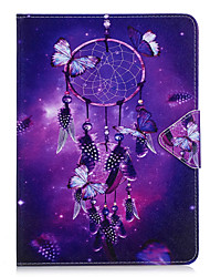 cheap -Case For Samsung Galaxy T280 T580 Case Cover Wind Chimes Pattern PU Material Triple Tablet PC Case Phone Case