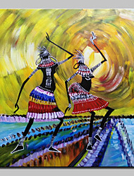 cheap -Large Size Hand Painted Dance Girl Oil Painting On Canvas Wall Art Picture For Home Decor No Frame
