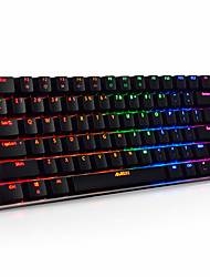 cheap -AJAZZ Wired RGB Backlit Black Switches 82 Mechanical Keyboard Backlit