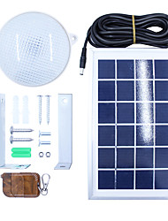 Y-SOLAR 8W 18 LED Super Bright Waterproof Solar Ceiling Lamp with 5m Cable Optional Remote Control LED Outdoor Lighting Garden Home NEW
