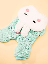 Dog Costume Dog Clothes Cosplay Love Blushing Pink Light Blue