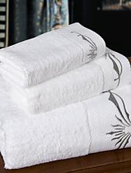 Bath Towel Set,Embroidery High Quality 100% Cotton Towel