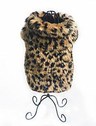 Недорогие -Собака Жилет Одежда для собак Теплый Для вечеринки На каждый день Новый год Матовый черный Костюм Для домашних животных