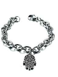 cheap -Men's Chain Bracelet - Stainless Steel Friends Luxury, Vintage, Bohemian Bracelet Silver For Christmas / Christmas Gifts / Party