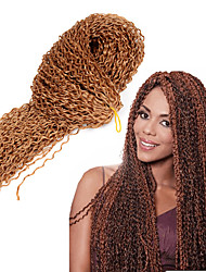 cheap -7Colors ZIZI braid hair 24inch Crochet Braids burg brown Blonde Freetress curly hair Micro Knot zizi hair Blonde Long Freetress Curl Hair water weave