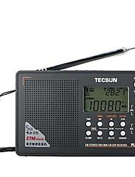 Tecsun PL-505 Radio Full-Band Old Man Semiconductor Clock Alarm Clock College Entrance Examination English Listening Four Six