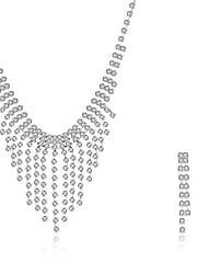abordables -Femme Boucles d'oreille goutte Pendentif de collier Zircon cubique Zircon Plaqué argent Forme Géométrique Irrégulier Personnalisé Luxe