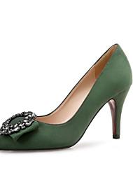 Femme Chaussures à Talons Confort Paillette Brillante Laine synthétique Printemps Automne Habillé Soirée & Evénement Strass Talon Aiguille