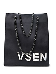 Women Bags Canvas Shoulder Bag for Wedding Event/Party Casual Formal Office & Career All Seasons Green White Black Red