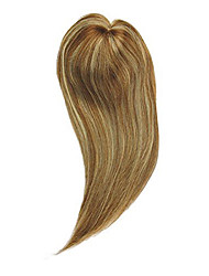 cheap -Uniwigs® Remy Human Hair Mono Hair Topper Closure Hair Topper Straight for Hair Loss (Y-22)