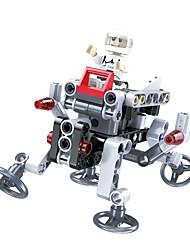 Robot Blocs de Construction Jouet Educatif Jouets Avion Chasseur Robot A Faire Soi-Même Enfant Pièces