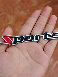 Logo automobilistico auto adesivi per metalli auto lettera digitale per metallo