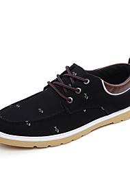 Da uomo Sneakers Comoda Di corda Primavera Estate Autunno Inverno Casual Footing Più materiali Piatto Nero Blu scuro Grigio Azzurro chiaro