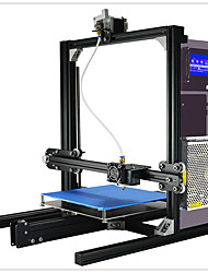 Yite 3d stampante diy kit alta precisione struttura multifunzione struttura in alluminio grande volume di costruzione 200x280x230mm