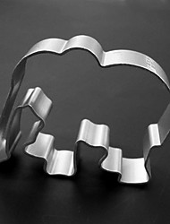 Animal ELEPHANT Shape Metal Cutter Cookie Aluminium Alloy Cake Mould Decorating Kitchen DIY For Making Cupcake/Fondant Cake