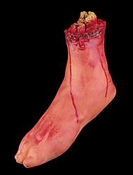 1pc brisé sang pieds festival décoration halloween hanté maison terreur fureur