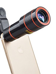 cheap -APEXEL APL-12CX3 Mobile Phone Lens 12X Telephoto 180  Fish Eyes 0.65X Wide Angle 10X Macro External Camera