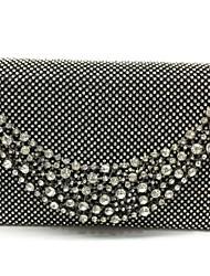 Damen Taschen Ganzjährig Metall Abendtasche für Veranstaltung / Fest Gold Schwarz Silber