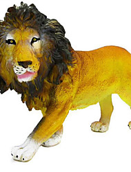 cheap -Animals Action Figures Toys Horse Lion Animals Tiger Deer Simulation Silicon Rubber Teen Pieces