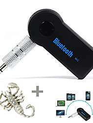 cheap -Stereo 3.5mm Blutooth Wireless for Car Music Audio Receiver Adapter Aux A2dp and Free of Sticker--1 pcs