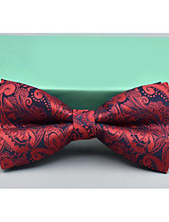 cheap -Men's Other Wedding Polyester Bow Tie Print