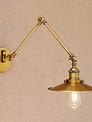 cheap -LED Country Retro Swing Arm Lights For Metal Wall Light 110-120V 220-240V 4W