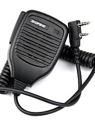 Недорогие -2-контактный карманный микрофон микрофона ptt для baofeng retevis tyt wouxun