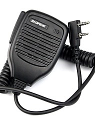 cheap -2Pin Handheld PTT Speaker Mic Microphone for BAOFENG Retevis TYT WOUXUN