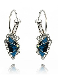 cheap -Women's Synthetic Sapphire Drop Earrings - Zircon Elegant Royal Blue For Party / Gift / Evening Party