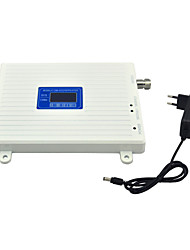 Mobile Phone CDMA 800mhz 850mhz DCS 1800mhz Signal Booster Signal Repeater Amplifier with Power Supply LCD Display / White