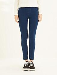 Women's Denim Pencil Pants Skinny Elastic Jeans
