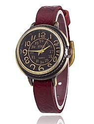 cheap -XU Women's Vintage Wrist Watch Leather Belt Casual Bracelet Watch Wrist Watch