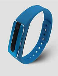 Per uomo Smart watch Orologio alla moda Digitale Silicone Banda Nero Blu Rosso