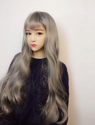 Недорогие -Парики для Лолиты Сладкое детство Серый Лолита Парики для Лолиты 40 дюймовый Косплэй парики Парики Хэллоуин парики