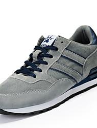 Недорогие -Для мужчин обувь Дышащая сетка Полиуретан Весна Осень Удобная обувь Светодиодные подошвы Спортивная обувь Шнуровка Назначение