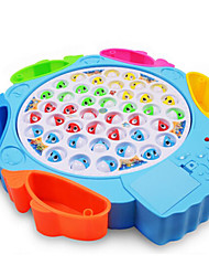 cheap -Magnet Toys Fishing Toys Educational Toy Toys Circular Fish Electric DIY Plastics Children's 1 Pieces