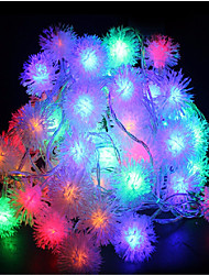 10M 60LED RGB Christmas Holiday String Light Wedding Party Decorating Curtain Light 220V