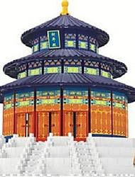 cheap -Building Blocks Toys Famous buildings Architecture Pieces Gift