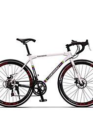 Cruiser Bike Cycling 14 Speed 26 Inch/700CC SHIMANO TX30 Disc Brake Non-Damping Aluminium Alloy Frame Anti-slip Aluminum Alloy
