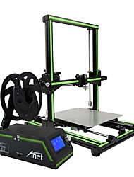 2017 New Style Anet E10 Large Size Aluminum Frame Desktop DIY 3D Printer LCD Screen Display With SD Card Off-line Printing Function