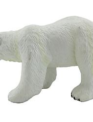 baratos -Animais de Brinquedo Urso Animais Simulação Borracha Silicone Adolescente Dom