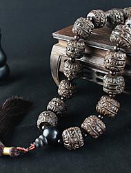 abordables -Diy pendentifs automobiles bijoux de style chinois pendentif voiture symbole de paix&Ornements boisés
