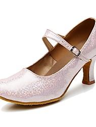 Women's Modern Customized Materials Heel Indoor High Heel Gold Silver Gray Blushing Pink Customizable