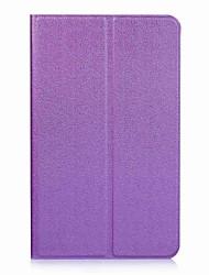 Étui en cuir pu puissant en couleur avec support pour huawei mediapad t3 tablette pc de 8,0 pouces