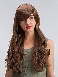 cheap -MAYSU Women Synthetic Wig Long Very Long Wavy Dark Brown/Medium Auburn Natural Wigs Costume Wig