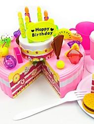 baratos -Conjuntos Toy Cozinha Comida de Brinquedo Brinquedo Educativo Brinquedos Comida Cortadores de Bolos e Bolachas Brinquedos Bolo Faça Você